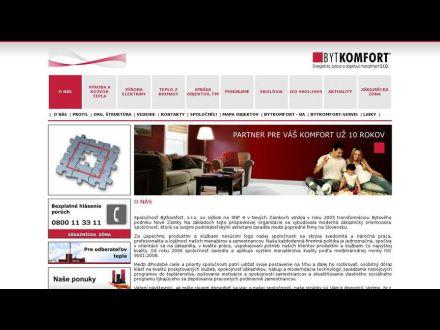 www.bytkomfort.sk