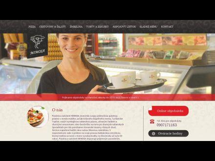 www.mimosa.sk