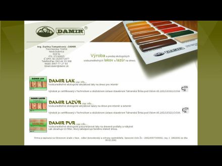 www.damir.sk