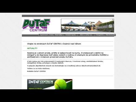 www.dutaf.sk