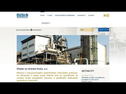 www.duslo.sk