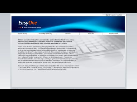 www.easyone.sk
