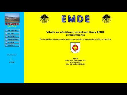 www.emde.sk
