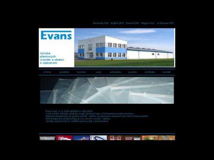 www.evans.sk