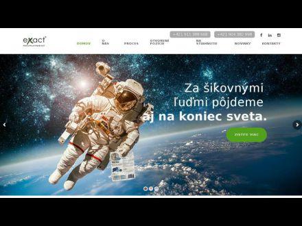 www.exact-recruitment.sk
