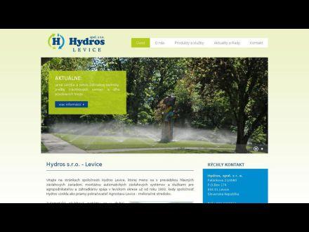 www.hydros-levice.sk