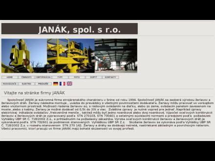 www.janak-zeriavy.sk