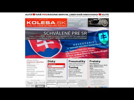 www.kolesa.sk