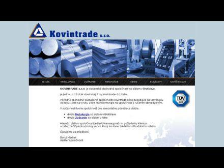 www.kovintrade.sk