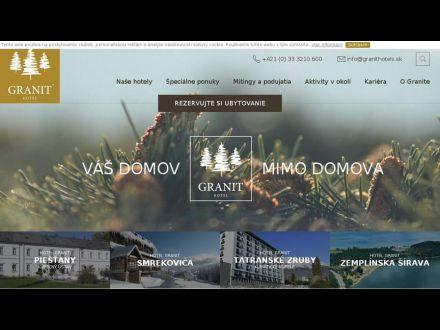 www.granithotels.sk