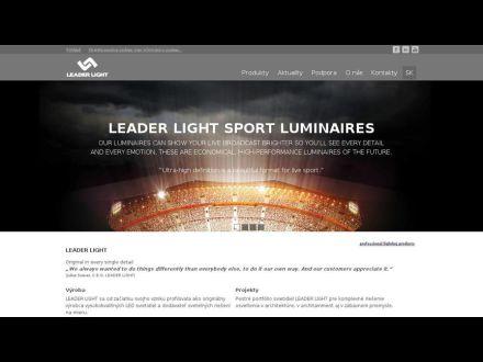 www.leaderlight.sk