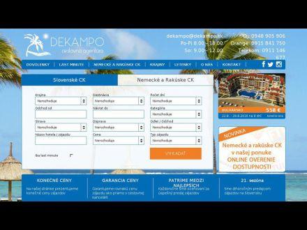 www.dekampo-dovolenka.sk