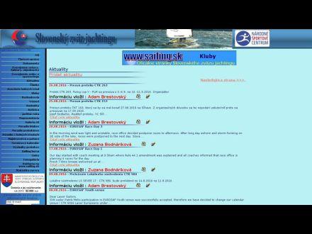 www.sailing.sk
