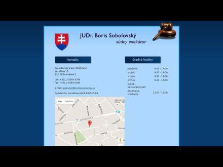 www.borissobolovsky.sk