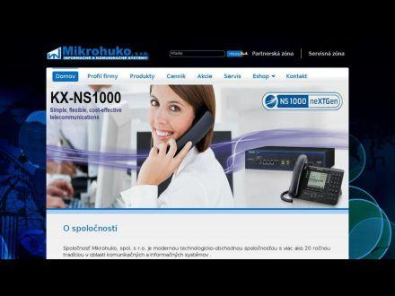 www.mikrohuko.sk
