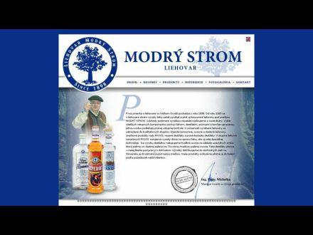 www.modrystrom.sk
