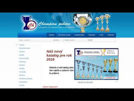 www.champion-pohare.sk