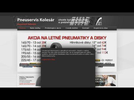 www.pneukolesar.sk