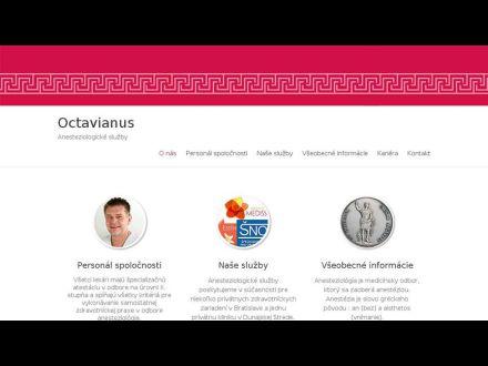 www.octavianus.sk