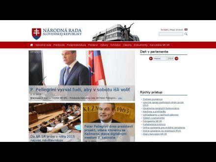 www.nrsr.sk