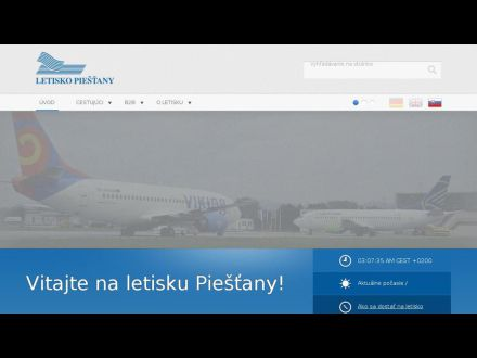 www.airport-piestany.sk
