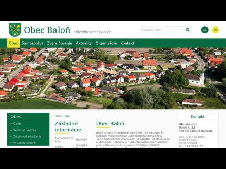 www.obecbalon.sk