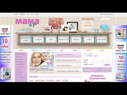 www.mamaaja.sk