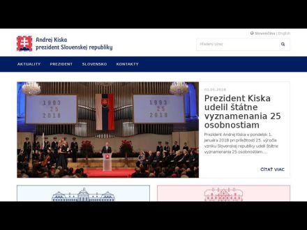 www.prezident.sk