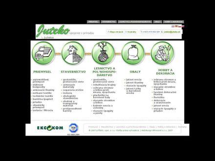 www.juteko.sk