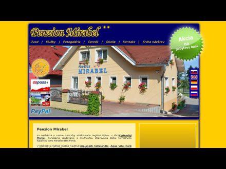 www.penzionmirabel.sk