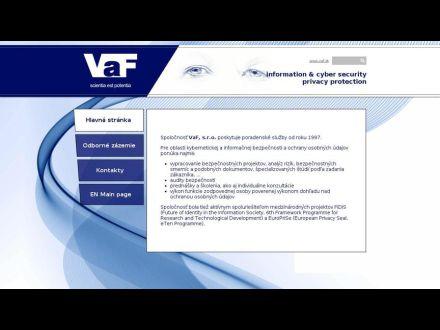 www.vaf.sk