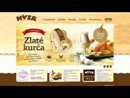 www.hyza.sk