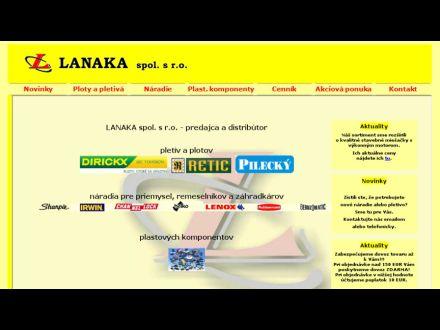 www.lanaka.sk