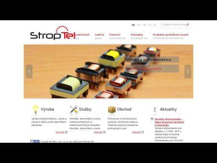 www.stroptel.sk