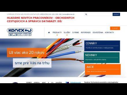 www.konex.sk