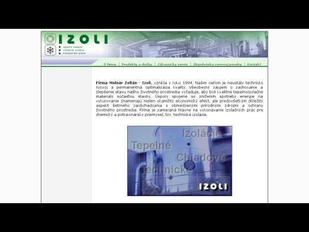 www.izoli.sk