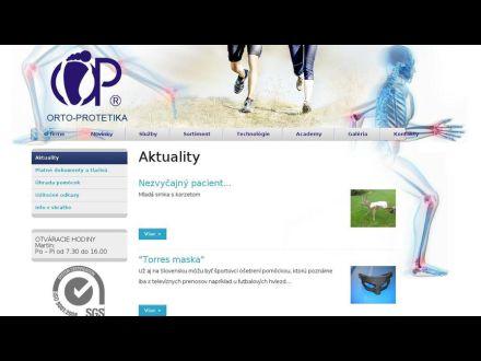 www.ortoprotetika.sk