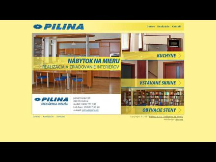 www.pilina.sk