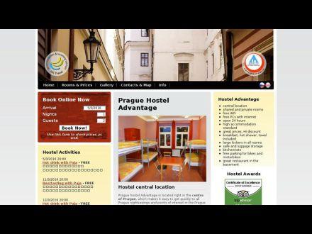 www.advantagehostel.cz