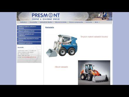 www.presmont.sk
