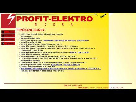 www.profitelektro.sk