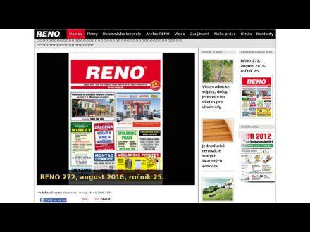 www.reno.sk