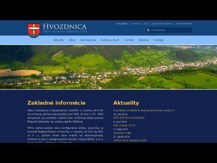 www.hvozdnica.sk