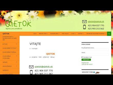 www.qietok.sk