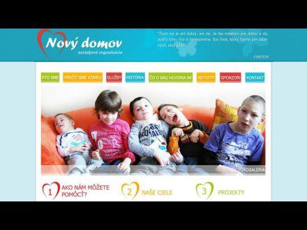 www.novy-domov.sk