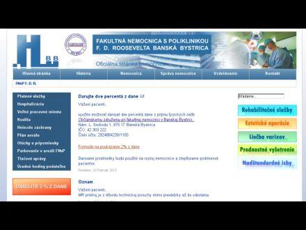 www.fnspfdr.sk