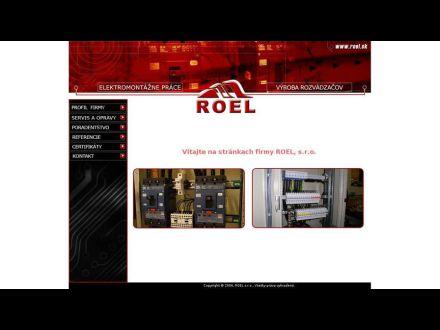 www.roel.sk