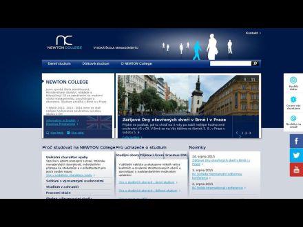www.newtoncollege.cz