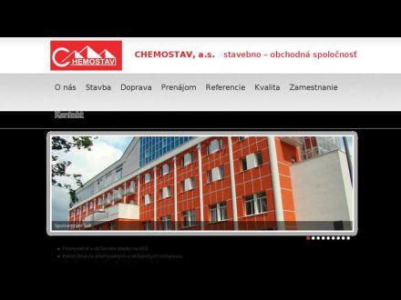 www.chemostav.sk