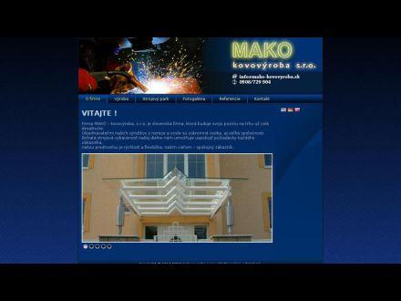 www.mako-kovovyroba.sk